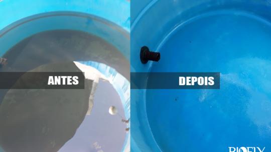 Higienização da caixa d'água