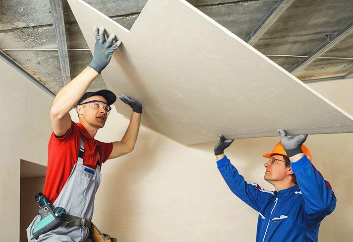 Do que é feito exatamente o drywall